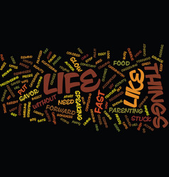 Life stuck in fast forward text background word vector
