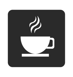 hot cup icon vector image