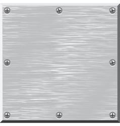 Metal surface  Design element vector image