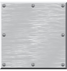 Metal surface Design element vector image