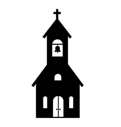 Church icon vector