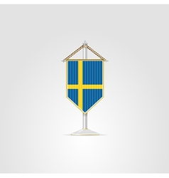 National symbols of european countries sweden vector