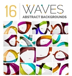 Set of dynamic waves vector