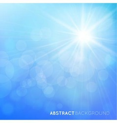 abstract background with bright effects vector image