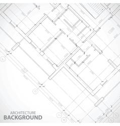 New black architecture plan vector