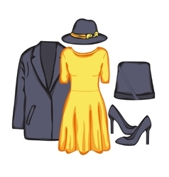Woman clothes vector