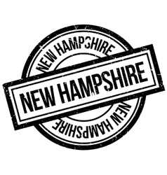 New Hampshire rubber stamp vector image