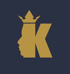 King royal luxury vector