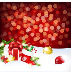 For Xmas vector image