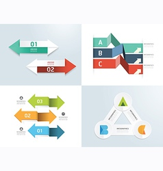 Modern design elements infographic template vector
