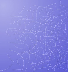 Dotted Lines Background vector image