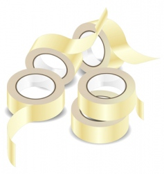 adhesive tape vector image