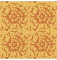 victorian wallpaper vector image