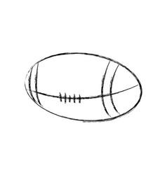 American football ball sport equipment image vector