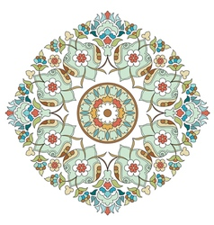 Artistic ottoman pattern series two vector