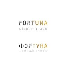 development creative logo fortune gradient vector image