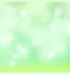 Light green background bokeh background vector