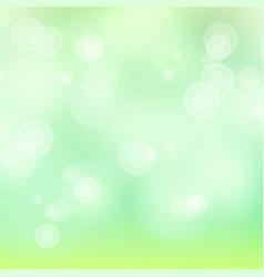 light green background bokeh background vector image vector image