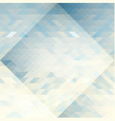 triangles abstract geometry pattern vector image