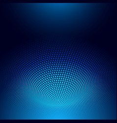 Abstract techno design background vector