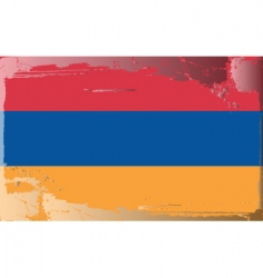 armenia national flag vector image