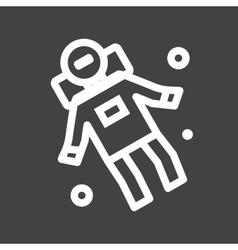 Space man ii vector
