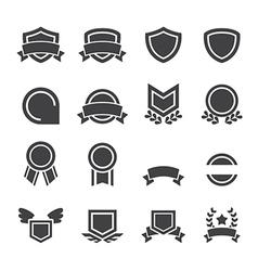 emblem icon vector image vector image