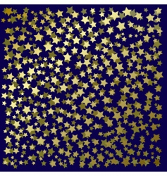 gold stars vector image