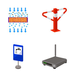 Internet facility equipment and other web icon vector
