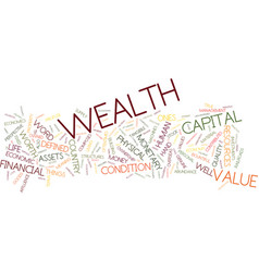 Eliminate the personal barriers to wealth text vector