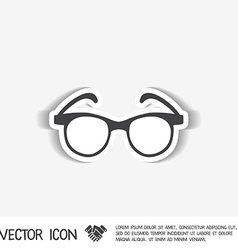 Glasses vector