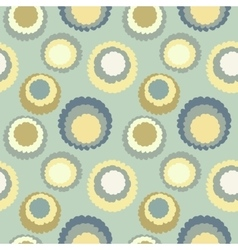 Abstract seamless spotty pattern polka dot vector