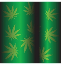 Marijuana background vector
