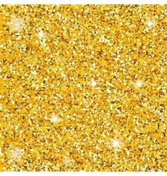 Golden dust seamless vector image