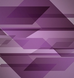 Abstract purple background with geometric shapes vector image vector image