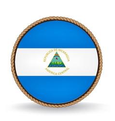 Nicaragua seal vector