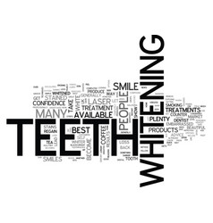 White teeth for a warm summer text word cloud vector