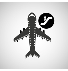 Travel flying concept departure design graphic vector