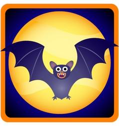 baby bat vector image vector image