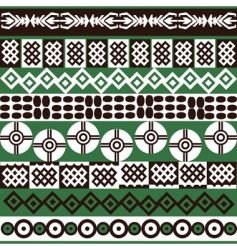 ethnic African vector image vector image