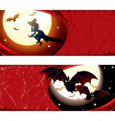witch background vector image vector image
