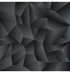 Low poly crystal background vector