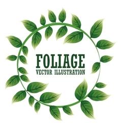 Foliage icon design vector