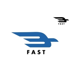 Fast delivery or ail mail icon vector