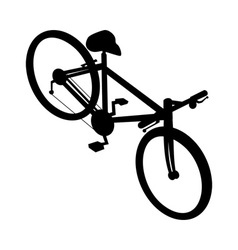 Racing bicycle bike vector