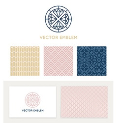 Set of graphic design elements vector
