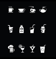 Drink icon vector