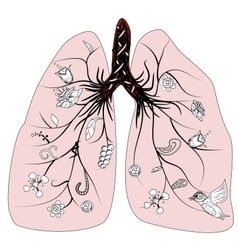 Lung health vector