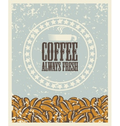 Fresh coffee vector