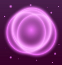 Abstract background with pink plasma circle effect vector